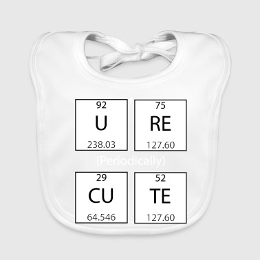 Periodic Table - Baby Organic Bib