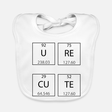 Periodic Table Periodic Table - Baby Organic Bib