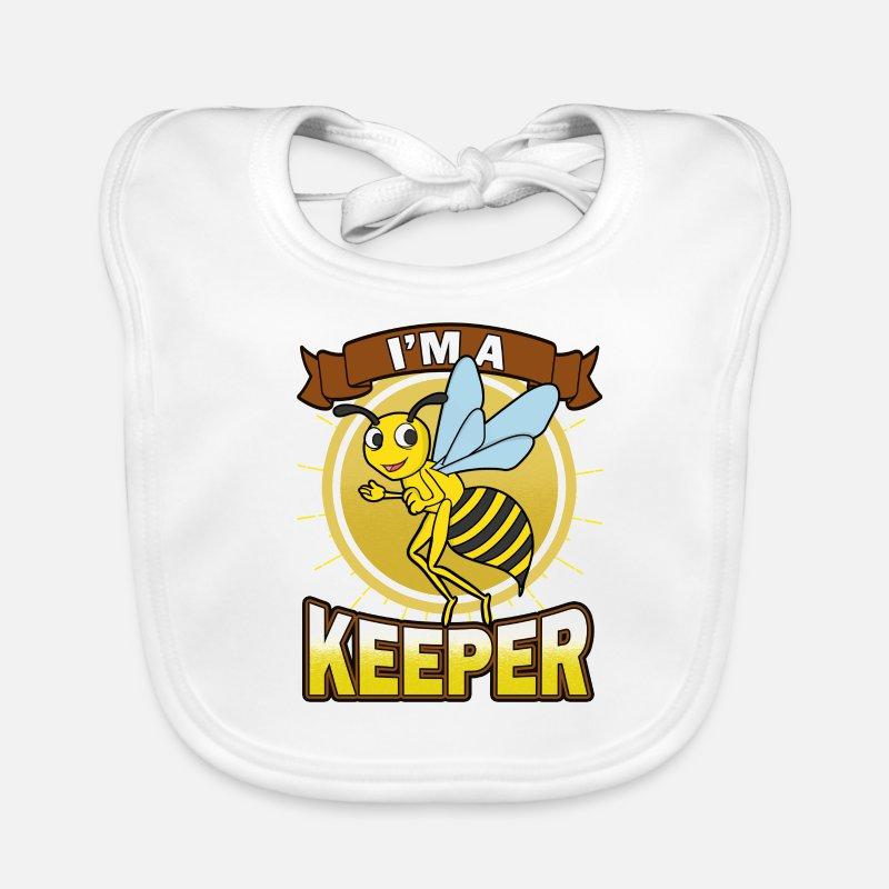 Imker Bin Ich Ein Imker Funny Bee Geschenk Lätzchen Spreadshirt