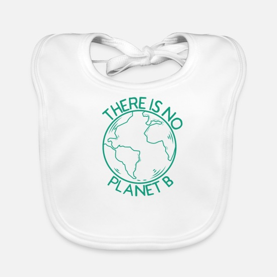 Sustainable Baby Clothes - Fair Trade Faire Clothing Sustainability Organic Nature - Baby Bib white