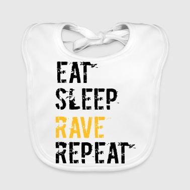 Rave and repeat - Baby Organic Bib