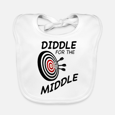 Diddl Dart Diddle for the Middle - Baby Bio-Lätzchen