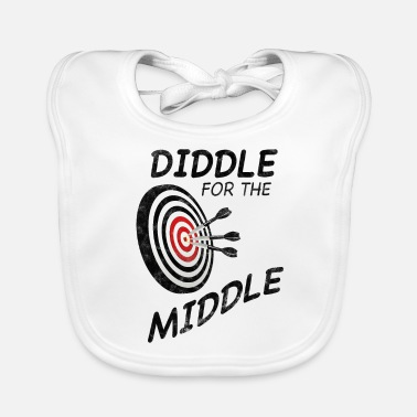 Diddl Dart Diddle for the Middle used - Baby Bio-Lätzchen