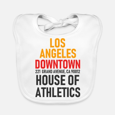 Hollywood Los Angeles - Downtown - Athletics House - Cal. - Ekologisk babyhaklapp