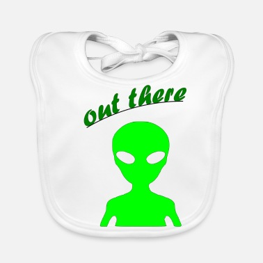 Out OUT THERE - Baby Organic Bib