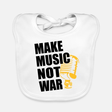Hacer Música hacer música no era - Babero da6e7d2b0e517