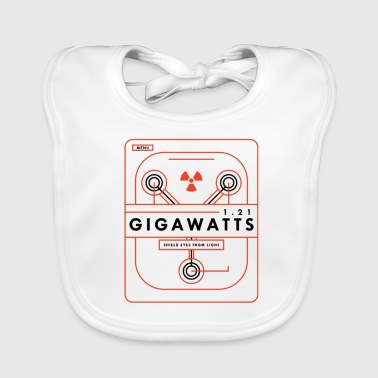 Back To The Future 1 21 Gigawatts - Baby Organic Bib