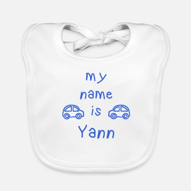 Yann YANN MY NAME IS - Bavoir bio Bébé