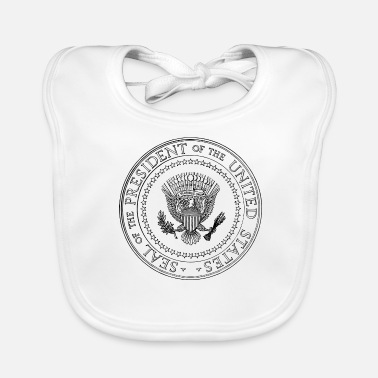 Us President Seal - President of the United States - Baby Organic Bib