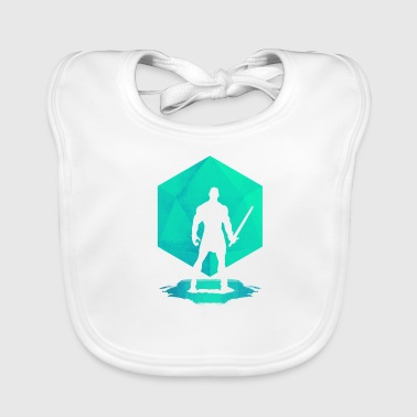 Dungeons And Dragons Glorious Fighter - Dungeons and Dragons d20 - Baby Organic Bib
