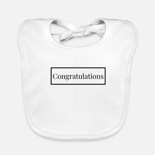 Gratulation Herzliche Glückwünsche In Englisch Lätzchen Spreadshirt