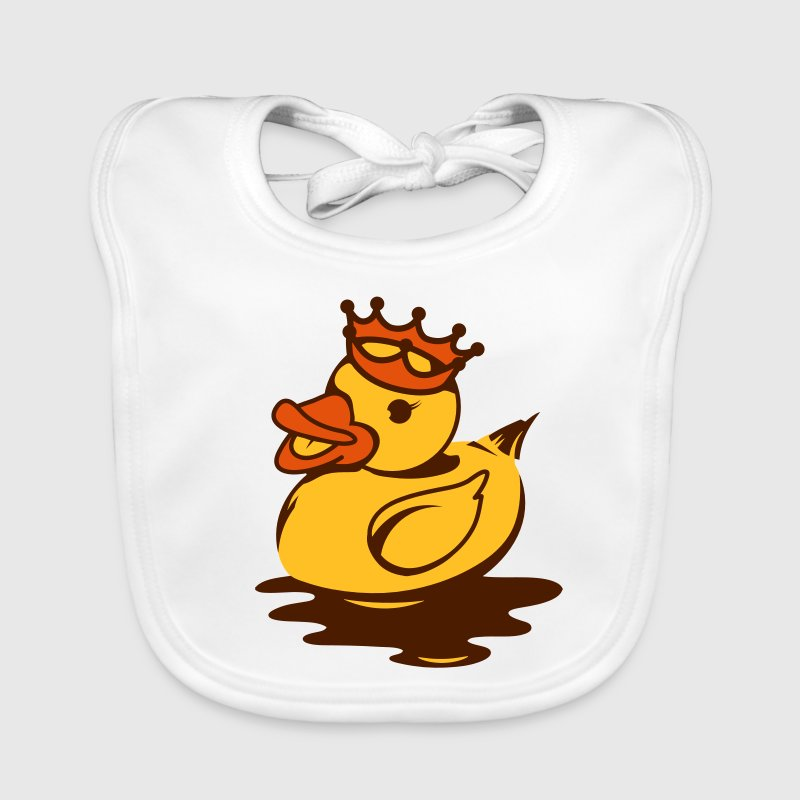 A rubber duck with crown - Bavaglino