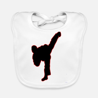 Kick The kick - Baby Organic Bib