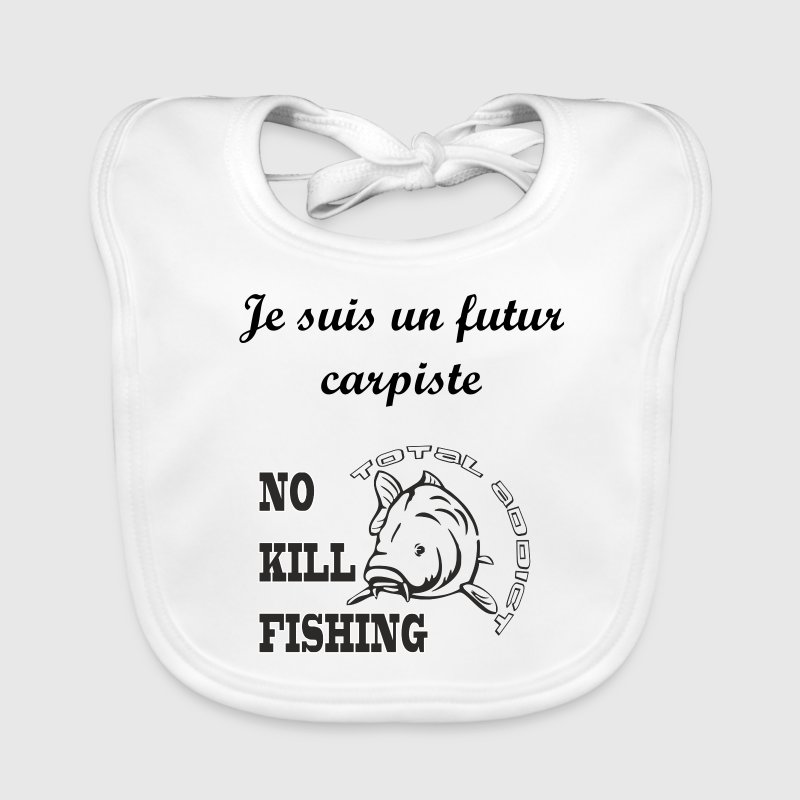No-Kill-Fishing.png - Bavoir bio Bébé