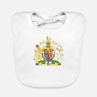 Ireland National Coat of Arms of the United Kingdom - Baby Organic Bib