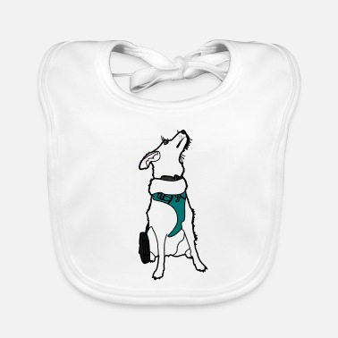 Dog Cartoon Dogs cartoon - Baby Bib