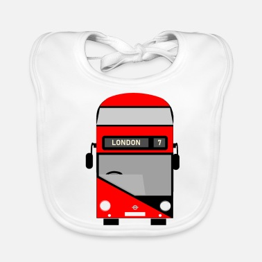 London London bus - Baby Bib