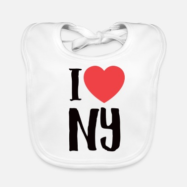 I Love New York Amo New York - Bavaglino