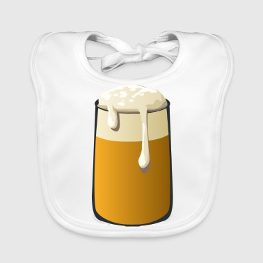 Glass of Beer - Baby Organic Bib