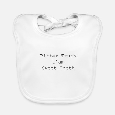 Cupcake Bitter Truth I'm Sweet Tand - Bio-slabbetje voor baby's