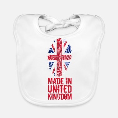 Kingdom Made in United Kingdom / United Kingdom - Baby Bib