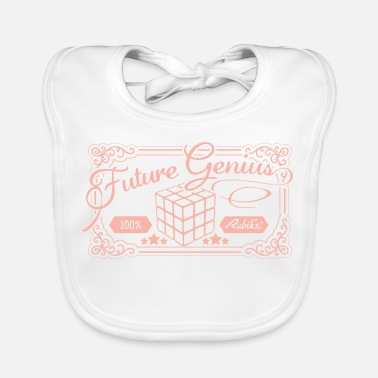 Officialbrands Rubik's Cube Future Genius - Baby Organic Bib