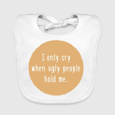 ugly people - Baby Organic Bib