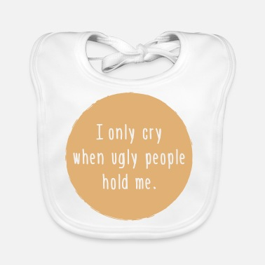 ugly people - Baby Bib
