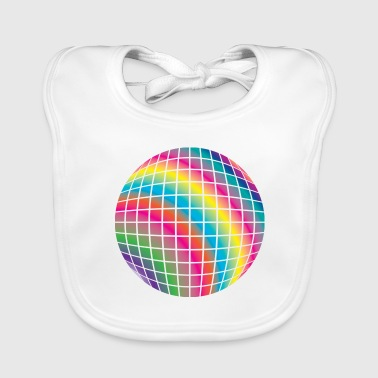 Disco ball - Baby Organic Bib