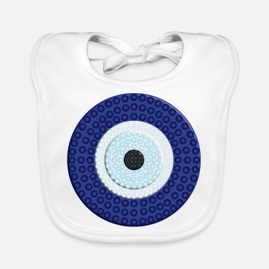 Symbol NAZAR BONCUK - BLUE EYE PROTECTION - Baby Bib