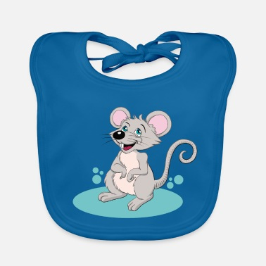 Mouse Little mouse - Baby Bib
