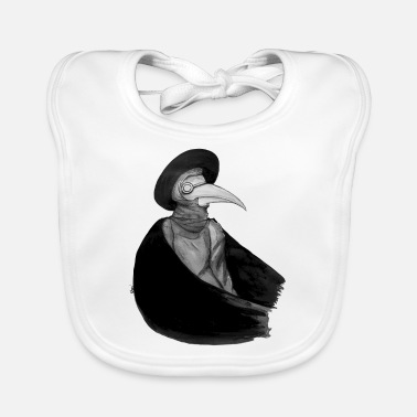 Epidemic Doctor of Plague - Plague Doctor - Baby Bib