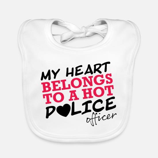 Ich Liebe Einen Polizisten Liebesbeweis Geschenk Lätzchen