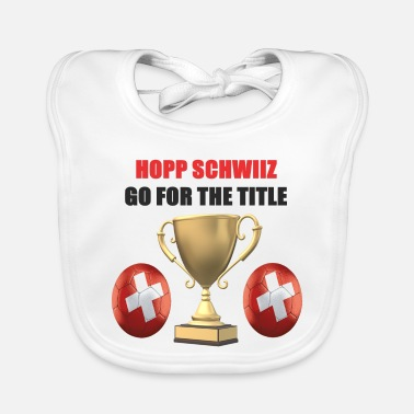 Swiss German Swiss Football Design - Baby Bib