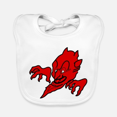 Devil Male Red devil - Baby Bib