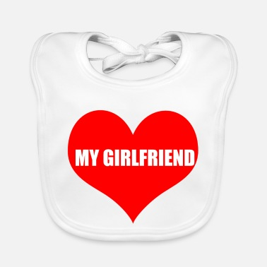 Girlfriend girlfriend - Baby Bib