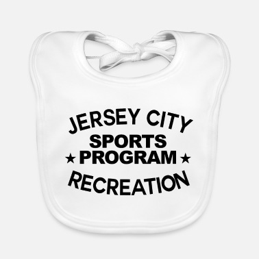 Recreational Jersey City Recreation Graphic - Baby Bib