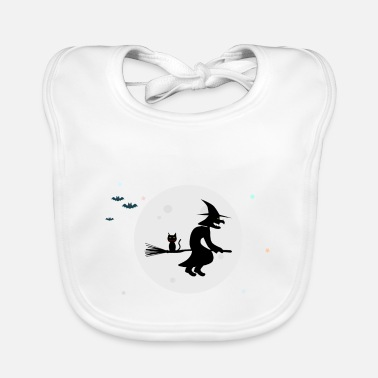 Witch The Witch / The Witch - Baby Bib