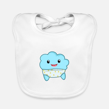 Happiness Underwear Thunder storms underwear - Baby Bib