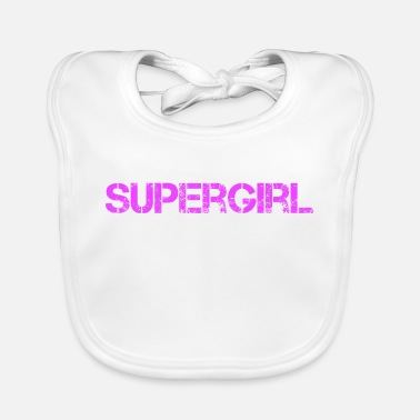 Superstar Super girl design - Lätzchen
