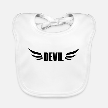 Devil Male devil - Baby Bib