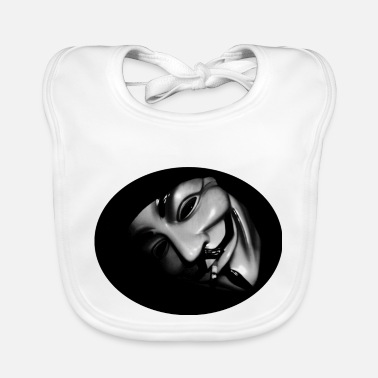 Anonymous For The Voiceless Anonymous - Baby Bib