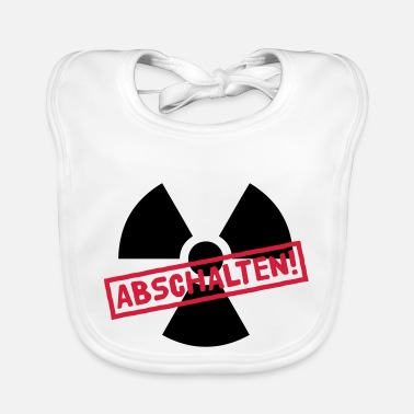 Castor Transport Nuclear power shutdown - Baby Bib