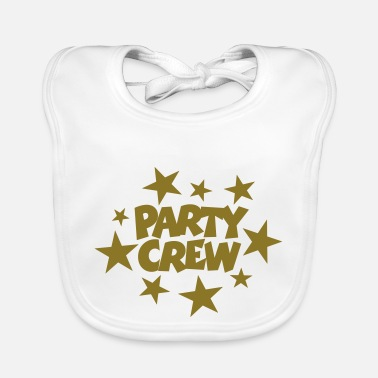 Beachparty Party Crew Stars Gold (FI) - Ruokalappu