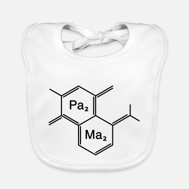 Family Junior Daughter Mom Father chemical papa + mama - Baby Bib