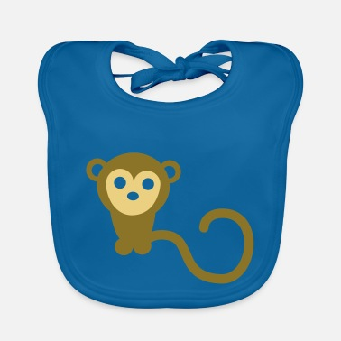 Marmoset Monkeys 2C - Baby Bib