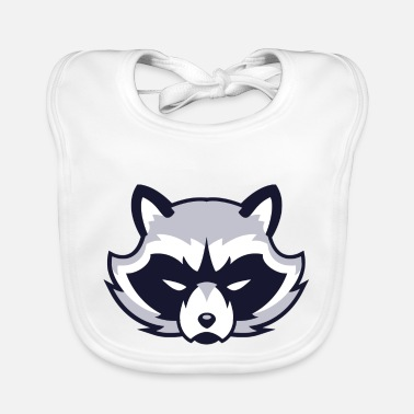 Animal Face animal face - Baby Bib