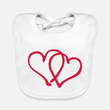 Tlc Heart Love - Baby Bib