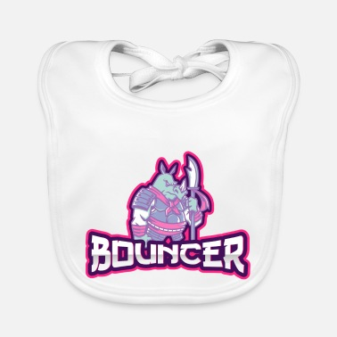 Bouncers Bouncers bouncers security - Baby Bib