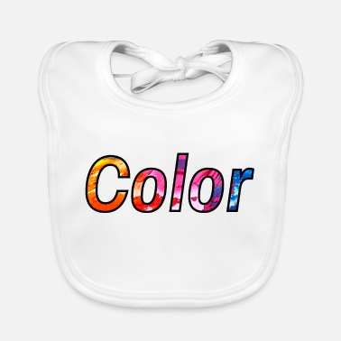 Colour colour - Baby Bib